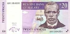 Малави: 20 квачей 1997 г.