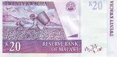 Малави: 20 квачей 2001-09 г.