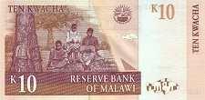 Малави: 10 квачей 1997 г.