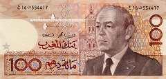 Марокко: 100 дирхамов 1987 (1991) г.