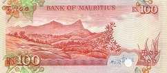 Маврикий: 100 рупий (1986 г.)