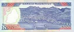 Маврикий: 1000 рупий (1991 г.)