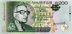 Маврикий: 200 рупий 2010-13 г.