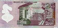 Маврикий: 25 рупий 2013 г.
