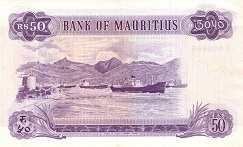 Маврикий: 50 рупий (1967 г.)