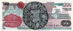Мексика: 10 песо 1992 г.