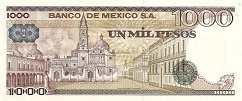 Мексика: 1000 песо 1978-84 г.