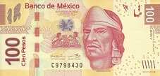 Мексика: 100 песо 2008-15 г.