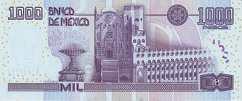 Мексика: 1000 песо 2002 г.