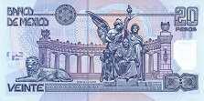 Мексика: 20 песо 2000-06 г.