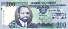 Мозамбик: 200 метикалов 2006 г.