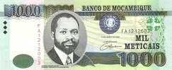 Мозамбик: 1000 метикалов 2006 г.