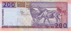 Намибия: 200 долларов (1993 г.)