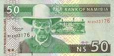 Намибия: 50 долларов (2003 г.)