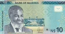 Намибия: 10 долларов 2015 г.