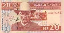 Намибия: 20 долларов (2002 г.)