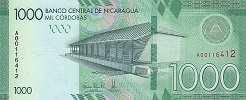 Никарагуа: 1000 кордобов (2017 г.)