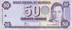 Никарагуа: 50 кордобов 2006 г.
