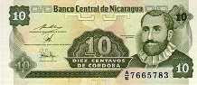 Никарагуа: 10 сентаво (1991 г.)