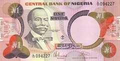 Нигерия: 1 найра (1984 г.)