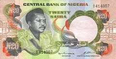 Нигерия: 20 найр (1978 г.)