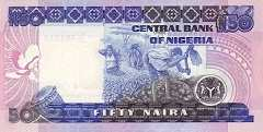 Нигерия: 50 найр (1991)-2005 г.
