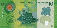 Никарагуа: 10 кордобов 2014 г.