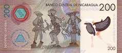 Никарагуа: 200 кордобов 2014 г.