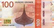 Норвегия: 100 крон 2016 г.