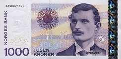 Норвегия: 1000 крон 2001-2004 г.
