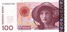 Норвегия: 100 крон 2003-2015 г.