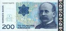 Норвегия: 200 крон 2002-2014 г.