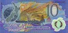 Новая Зеландия: 10 долларов 2000 г. (юбилейная)