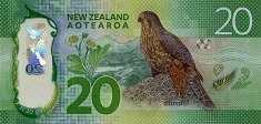 Новая Зеландия: 20 долларов (2016 г.)