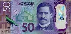 Новая Зеландия: 50 долларов (2016 г.)