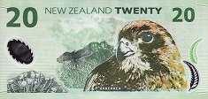 Новая Зеландия: 20 долларов (1999-2014 г.)