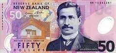Новая Зеландия: 50 долларов (1999-2014 г.)