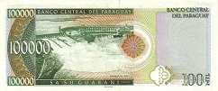 Парагвай: 100000 гуарани 1998 г.