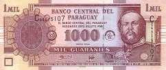 Парагвай: 1000 гуарани 2004-05 г.