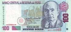 Перу: 100 солей 2001-06 г.