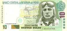 Перу: 10 солей 2001-06 г.