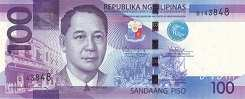 Филиппины: 100 песо 2010-15 г.