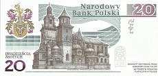 Польша: 20 злотых 2015 г. (Ян Длугош)