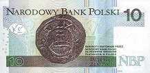 Польша: 10 злотых 2012 г.