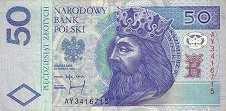 Польша: 50 злотых 1994 г.