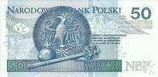 Польша: 50 злотых 2012 г.