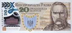 Польша: 20 злотых 2014 г. (Польский Легион)