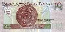 Польша: 10 злотых 1994 г.