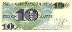 Польша: 10 злотых 1982 г.