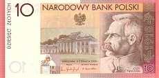 Польша: 10 злотых 2008 г. (90-летие независимости)
